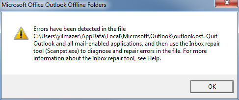 error-outlook-ost-file
